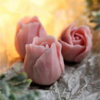 Бутон розы №2 (3 шт на форме)