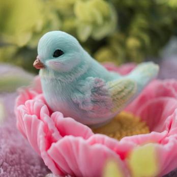 Птичка букетная